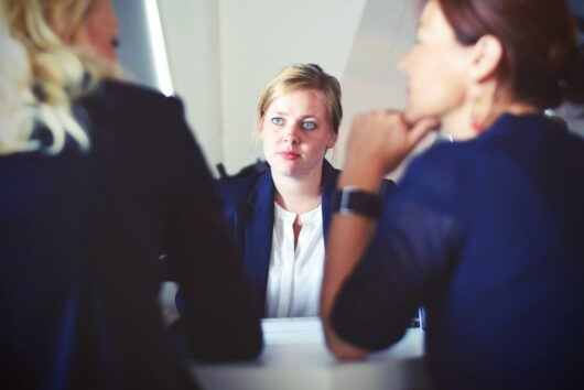 Career coach advises two women on how to get or grow their dream job.