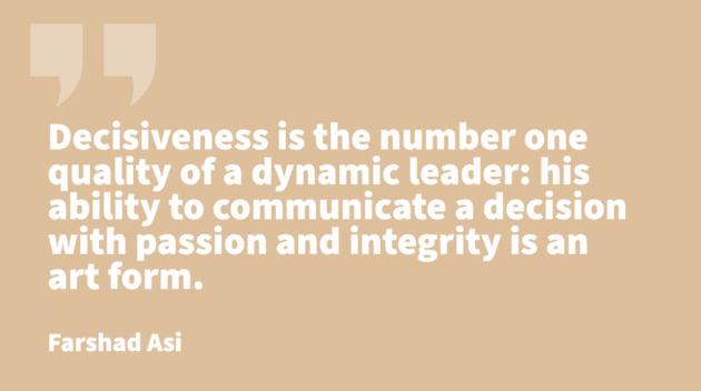 traits of leadership -Farshad Asi