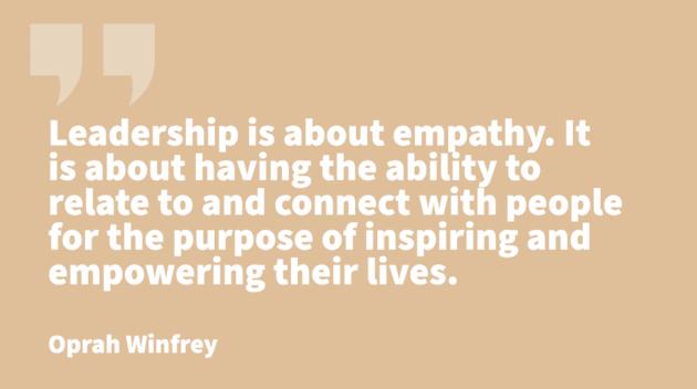 traits of leadership -Oprah Winfrey