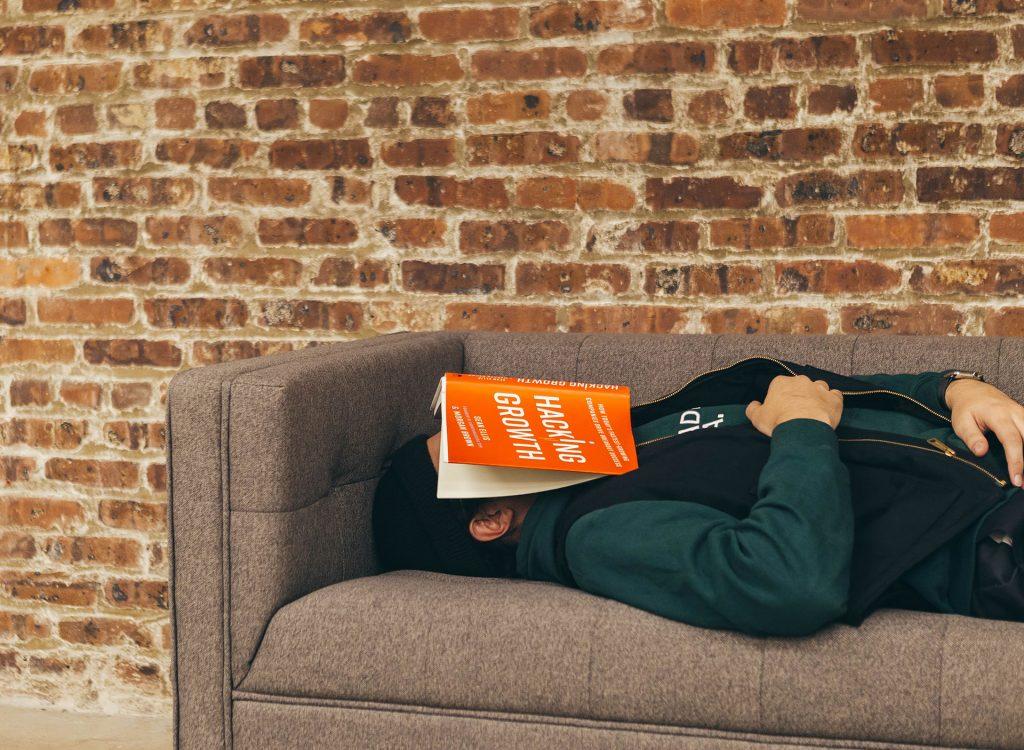 getting enough sleep you don't fall asleep reading