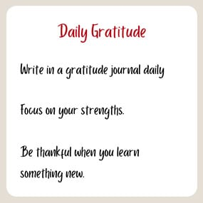 daily gratitude for your morning routine