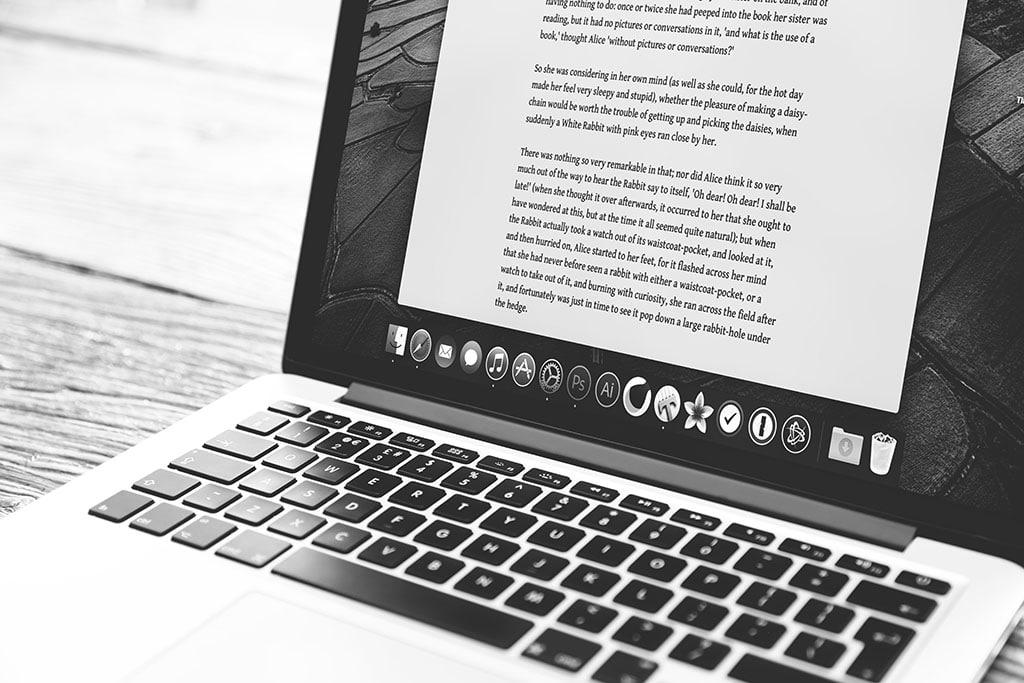 freelancer laptop work