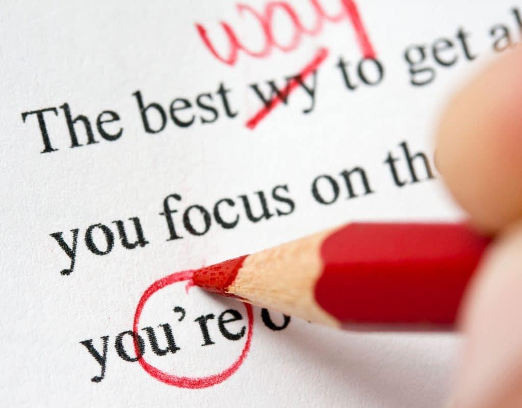 the written word grammar