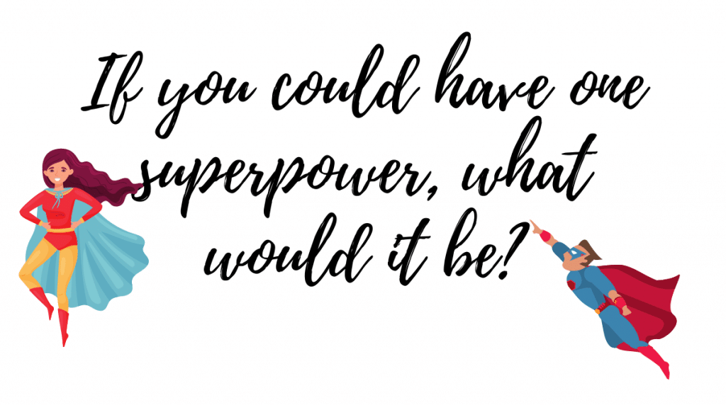 virtual ice breakers whats your superpower