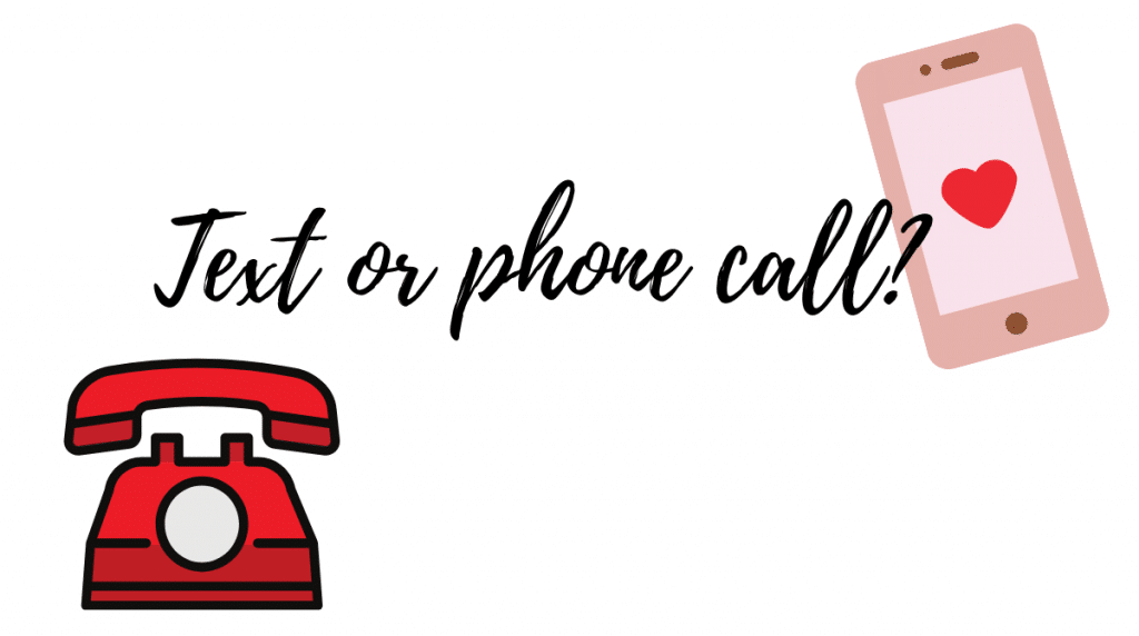 text or phone call virtual ice breakers