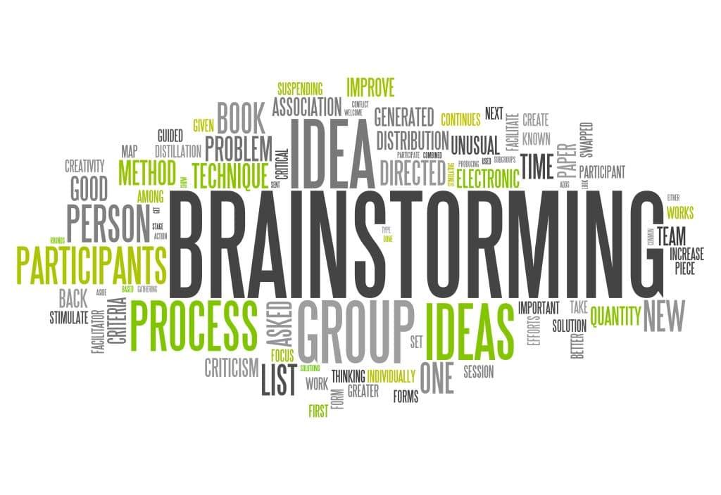 business brainstorming 2021