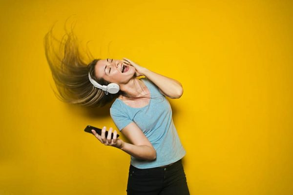 music increase productivity singing